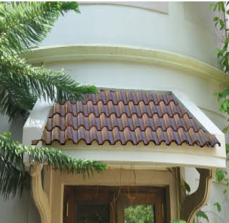 Wall, Floor and Roof Tiles.